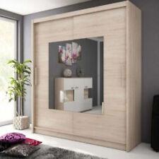 buy unbranded wardrobes with sliding doors ebay