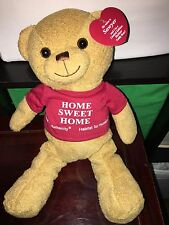 Habitat for Humanity Home Sweet Home  Sawyer Bear Plush  12 inch New