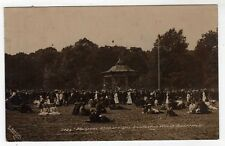 YORKSHIRE, SHEFFIELD, ENDCLIFFE WOODS, MUSICAL ATTRACTIONS, CROWD, 1911, RP