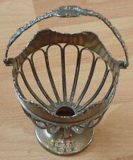 Silberschale, Silberkorb, Englisches Silber  (Art.3475)
