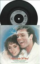"Cliff Richard & Sarah Brightman:All I ask of you/Phantom :7"" Vinyl Single:UK Hit"