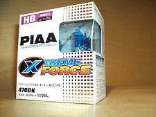 PIAA - HB X 2 HEADLAMP BULBS - EXTREME FORCE - 12V/55W - NEW RARE 4700K
