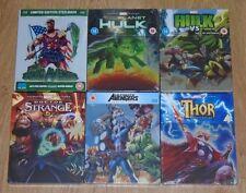 Marvel Avengers collection  (6 blu-rays)  Steelbook. NEW & SEALED (UK) Bundle