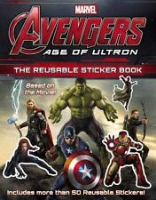 Age of Ultron : The Reusable Sticker Book Paperback 50 + stickers Thor Hulk Iron