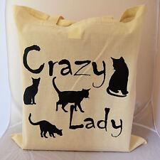 Bolso Para Crazy Gato Dama idea regalo perfecto para cualquier mujer