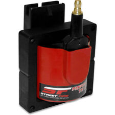 MSD Ignition Coil 5527; Street Fire Red 48,000 Volts E-Core, TFI HEI for Ford