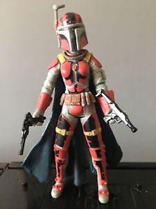 "Star Wars Mandalorian Rav Bralor Republic Elite Forces 3.75"" Action Figure 2007"