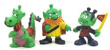 McDonald's - Vintage - Astrosnik - Bully - Perfido - Toy - Lot of (3) Figurines