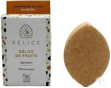 Shampoing solide Bio - Cheveux gras - Délice de fruits - 85G