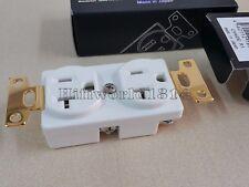 1P oyaide R1 wall outlet Beryllium Copper Platinum Paradium Plated us socket