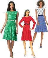 Misses' Inverted-Dart Dresses Pattern Butterick B6164 14-16-18-20-22 Easy