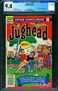 Jughead #325 CGC 9.4 2nd Cheryl Blossom appearance  2038917001