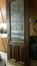 exterior door stained glass 36 x 95