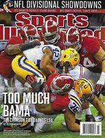 Sports Illustrated Magazine Alabama Crimson Tide Football National Champions
