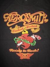 "2010 AEROSMITH ""COCKED, LOCKED ... READY TO ROCK!"" Concert Tour (LG) T-Shirt"