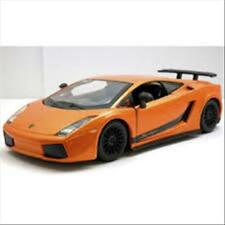 Lamborghini Gallardo Superleggera 2007 1:24 Burago Bu22108Or Modellino Diecast