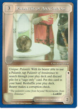 MIDDLE EARTH BLUE BORDER PREMIER RARE CARD PALANTIR OF ANNUMINAS grade 9/10