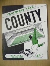 Official Programme 1961- NOTTS. COUNTY v PORT VALE, 21 September