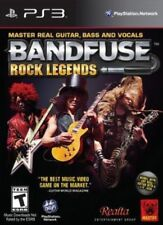 BandFuse: Rock Legends USED SEALED (Sony PlayStation 3, 2013) No Cord