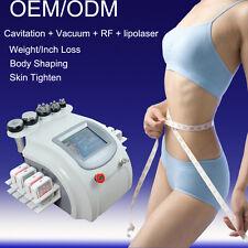 Vacuum Ultrasonic lipo cavitation rf weight loss laser slimming machine 160mw