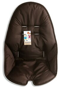 The brown cover for highchair for feeding Bloom Fresco with pads.