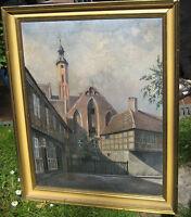 Brandenburg an der Havel Gemälde St. Paulikloster Pauli-Winkel Sankt Pauli
