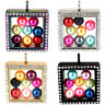 Square Beads Cage Glass Locket Pearl Cage Floating Pendant Gift