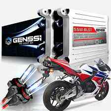 GENSSI HID Headlight Conversion Kit w/Adapters for Honda CBR600RR 2003-2016