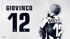 POSTER SEBASTIAN GIOVINCO JUVE JUVENTUS SOCCER FOOTBALL CALCIO UEFA FIFA #3