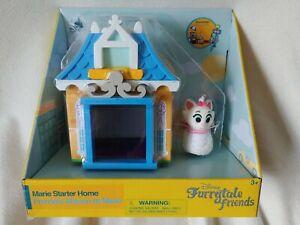 Disney Store Furrytale Friends Marie Starter Home Playset & Figure Aristocats