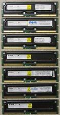 Lot of 17 512MB Rambus Memory PC800-40 or PC800-45, ECC & non-ECC, Mixed Brands