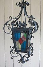 Antico portico in vetro colorato decorativo lanterna-lanterne luci