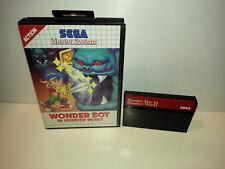 Wonder Boy in Monster World für Sega Master System OVP (ohne Anleitung)