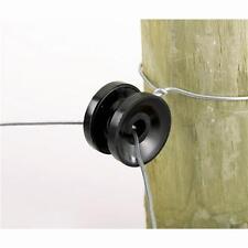 25 Pk Dare Plastic Round Corner Post Electric Wire Fence Insulator 10/Pk 1752-10