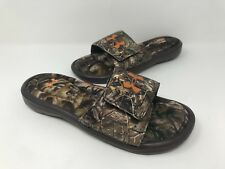 New! Boy's Youth Under Armour 1252566-946 Ignite IV Camo Slide Sandals B6