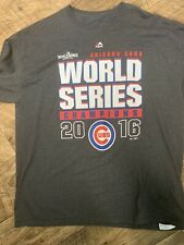 2016 World Series Champs Chicago Cubs T-Shirt (xl) Majestic