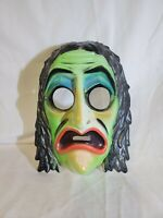Vintage Ben Cooper 1960's Adult Halloween Mask Creepy/Scarey