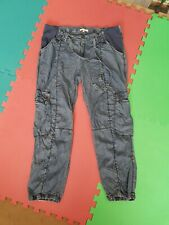 Mamas And Papas 14s Short Maternity Jeans 3/4 Lengths Adjistable comfortable