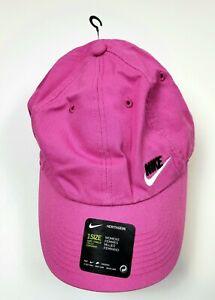 Nike Heritage86 Swoosh Women's Ladies Golf Hat Cap Pink Adult Adjustable