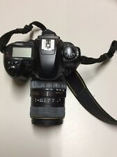 Nikon Digital Camera D100. 55-200mmD. 1.4-5.6 QD. No Battery. No Accessories.