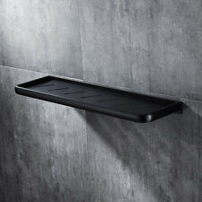 50cm Modern Black Space Aluminium Wall Mounted Bathroom Shower Shelf Storage