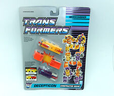 TRANSFORMERS G1 MICROMASTER CONSTRUCTOR SQUAD MOSC