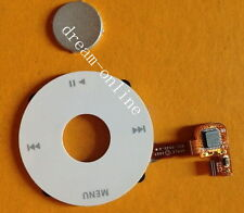 White Clickwheel Central Button for iPod Classic 6th 80GB