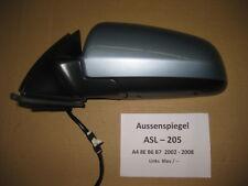 Audi A4 8E B6 B7 Aussenspiegel Spiegel Mirror Links Linker Seitenspiegel ASL205