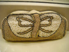 Mint Antique Vintage Beaded Clutch Handbag cira Early 1900's
