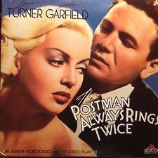 The Postman Always Rings Twice  B&W  1946   Laserdisc Movie Ld