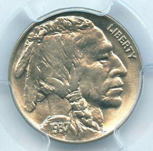 1937 Buffalo Nickel, PCGS MS66