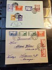 Air Mail Covers - WW1 - Turkey Bukarest - 1918 - Germany