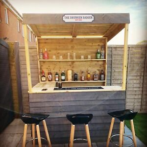 Garden Bar - Home Bar - 7-10 Day Postage! - Look at our reviews!