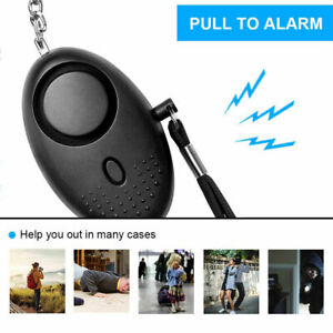 Security Alarm Safety Panic Rape Attack 140db Police Keyring Approved Personal